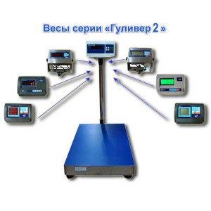 Весы напольные фасовочные МП 60 ВЖА Ф-2 Гулливер 450х600