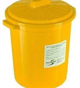 Бак для медицинских отходов